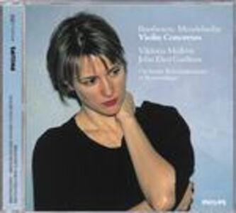 CD Concerti per violino Ludwig van Beethoven , Felix Mendelssohn-Bartholdy