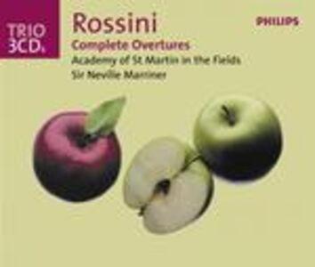 CD Ouvertures complete di Gioachino Rossini