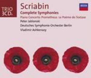 CD Sinfonie complete di Alexander Nikolayevich Scriabin