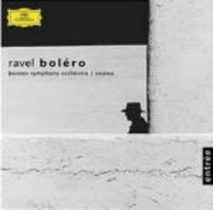 CD Boléro - Pavane pour une Infante défunte - La valse - Rapsodia spagnola di Maurice Ravel