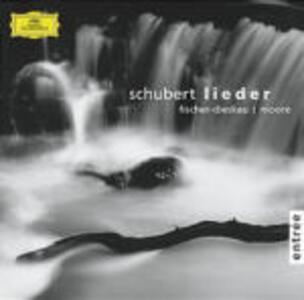 Lieder - CD Audio di Franz Schubert,Gerald Moore,Dietrich Fischer-Dieskau