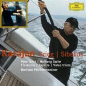 CD Peer Gynt Suites.- Holberg Suite / Finlandia - Tapiola Edvard Grieg , Jean Sibelius