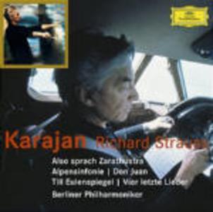 CD Così parlò Zarathustra (Also Sprach Zarathustra) - Don Juan - Sinfonia delle Alpi (Ein Alpensinfonie) di Richard Strauss