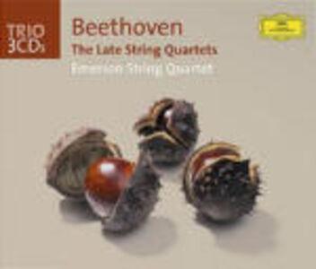 CD Quartetti per archi n.12, n.13, n.14, n.15, n.16, op.133 di Ludwig van Beethoven