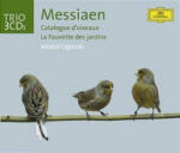 CD Catalogue d'oiseaux di Olivier Messiaen