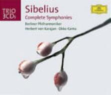 Sinfonie complete - CD Audio di Jean Sibelius,Herbert Von Karajan,Berliner Philharmoniker