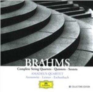 CD Quartetti per archi completi - Quintetti - Sestetti di Johannes Brahms