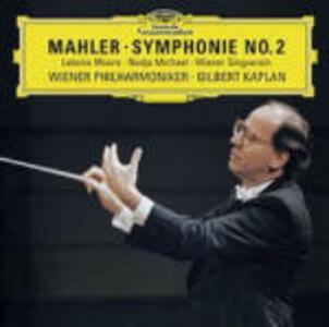 Sinfonia n.2 - CD Audio di Gustav Mahler,Wiener Philharmoniker,Gilbert Kaplan