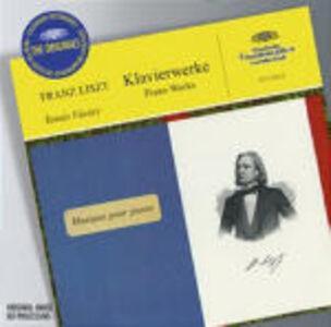 Foto Cover di Opere per pianoforte, CD di Franz Liszt,Tamas Vasary, prodotto da Deutsche Grammophon