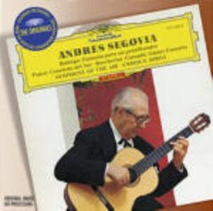 Foto Cover di Fantasia para un gentilhombre / Concerto del Sur / Concerto per violoncello n.6, CD di AA.VV prodotto da Deutsche Grammophon