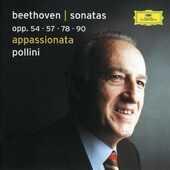 CD Sonate per pianoforte n.22, n.23, n.24, n.27 Ludwig van Beethoven Maurizio Pollini