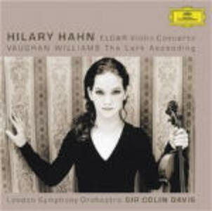 Concerto per violino / The Lark Ascending - CD Audio di Edward Elgar,Ralph Vaughan Williams,Sir Colin Davis,Hilary Hahn,London Symphony Orchestra