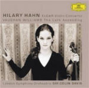 CD Concerto per violino / The Lark Ascending Edward Elgar , Ralph Vaughan Williams