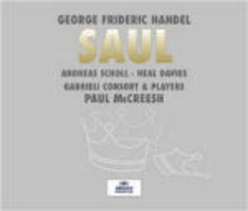CD Saul di Georg Friedrich Händel