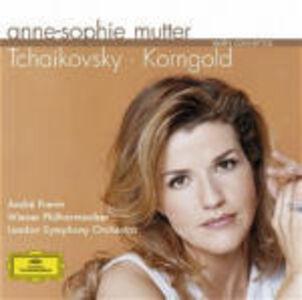 CD Concerti per violino Pyotr Il'yich Tchaikovsky , Erich Wolfgang Korngold