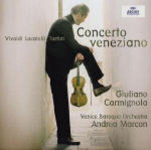 CD Concerto veneziano Antonio Vivaldi , Giuseppe Tartini , Pietro Locatelli