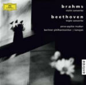 CD Concerto per violino / Triplo concerto Ludwig van Beethoven , Johannes Brahms