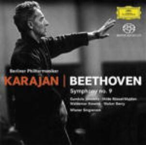 Sinfonia n.9 - SuperAudio CD di Ludwig van Beethoven,Herbert Von Karajan,Berliner Philharmoniker