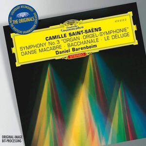 Foto Cover di Sinfonia n.3 - Danze Macabra - Bacchanale - Le Deluge, CD di AA.VV prodotto da Deutsche Grammophon