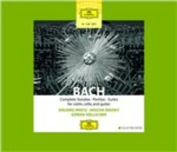 CD Sonate - Partite - Suites di Johann Sebastian Bach