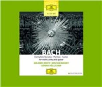 CD Sonate - Partite - Suites di Johann Sebastian Bach