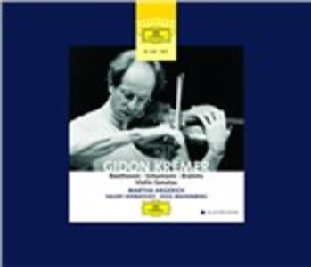 Sonate per violino - CD Audio di Ludwig van Beethoven,Johannes Brahms,Robert Schumann,Gidon Kremer