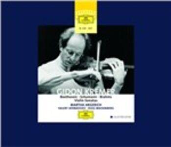 CD Sonate per violino Ludwig van Beethoven , Johannes Brahms , Robert Schumann