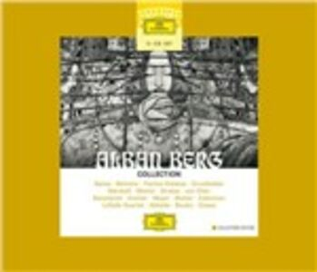 CD Collection di Alban Berg