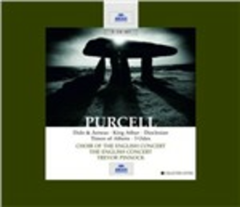 CD Dido & Aeneas - King Arthur - Dioclesian - Timon of Athens - 3 Odes di Henry Purcell