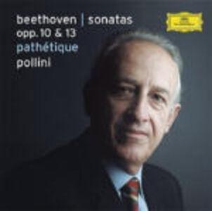 CD Sonate per pianoforte op.10 n.1, n.2, n.3, op.13 n.8 di Ludwig van Beethoven