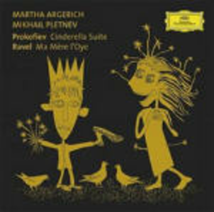 CD Cenerentola Suite / Ma mère l'Oye Sergei Sergeevic Prokofiev , Maurice Ravel