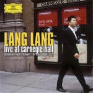 CD Live at Carnegie Hall Franz Joseph Haydn , Franz Liszt , Franz Schubert , Robert Schumann