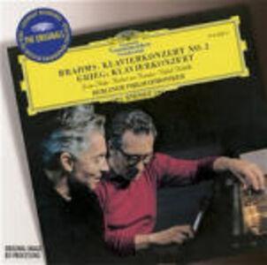 CD Concerto per pianoforte n.2 / Concerto per pianoforte Johannes Brahms , Edvard Grieg