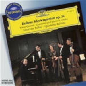 Quintetto con pianoforte op.34 - CD Audio di Johannes Brahms,Maurizio Pollini,Quartetto Italiano