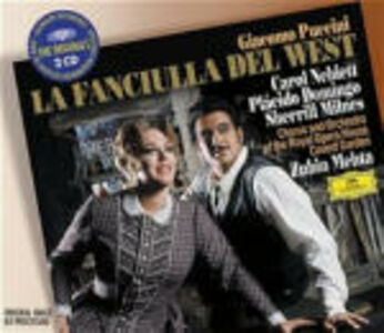 CD La fanciulla del West di Giacomo Puccini