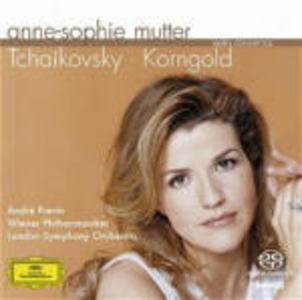 CD Concerti per violino Pyotr Il'yich Tchaikovsky , Erich Wolfgang Korngold