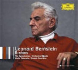 Sinfonie complete - Doppio concerto - Variazioni su un tema di Haydn - Concerto per violino - CD Audio di Leonard Bernstein,Johannes Brahms