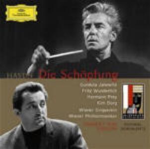 La Creazione (Die Schöpfung) - CD Audio di Franz Joseph Haydn,Herbert Von Karajan,Fritz Wunderlich,Gundula Janowitz,Hermann Prey,Wiener Philharmoniker