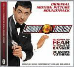 Cover della colonna sonora del film Johnny English