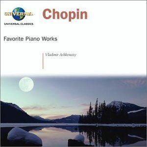 CD Favorite Piano Works di Fryderyk Franciszek Chopin