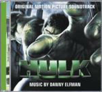 CD Hulk (Colonna Sonora) di Danny Elfman
