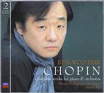 CD Opera completa per pianoforte e orchestra di Fryderyk Franciszek Chopin