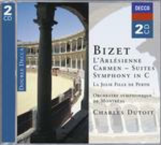 CD Sinfonia in Ut - L'Arlésienne Suite - Carmen Suite - La Jolie fille de Perth di Georges Bizet