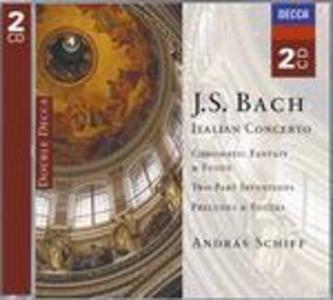 CD Opere per pianoforte solo di Johann Sebastian Bach