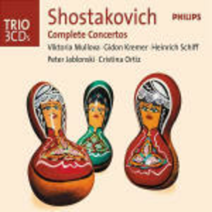 CD Concerti completi di Dmitri Shostakovich