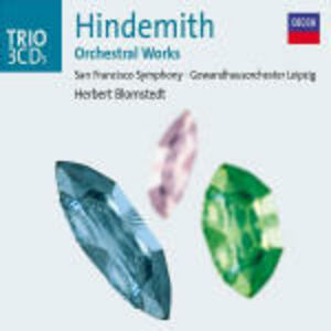 CD Opere orchestrali di Paul Hindemith
