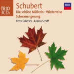 CD Die Schöne Müllerin - Winterreise-Lieder - Schwanengesang di Franz Schubert