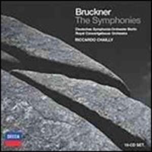 Sinfonie complete - CD Audio di Anton Bruckner,Riccardo Chailly,Royal Concertgebouw Orchestra,Deutsches Sinfonie-Orchester Berlino