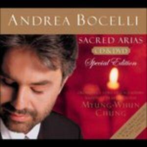 CD Sacred Arias di Andrea Bocelli