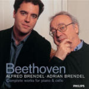 Sonate per violoncello e pianoforte complete - CD Audio di Ludwig van Beethoven,Alfred Brendel